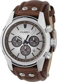 @Amazon: Fossil Herren-Armbanduhr Sport Chronograph Leder braun CH2565 für 59,50 € (Idealo ab 94 €) und Fossil Herren-Armbanduhr XL Chronograph Leder JR1390 für 69,99€ (Idealo ab 99 €) (weitere Modelle: Fossil Herren-Armbanduhr XL Chronograph Leder J