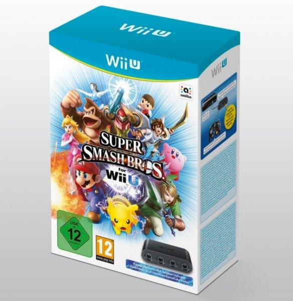 Super Smash Bros WiiU + Original Gamecube Adapter für 73,70 inkl. Versand bei Zahlung per PP