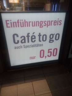 [lokal Gelsenkirchen] Coffee to go (alle variationen 50 Cent