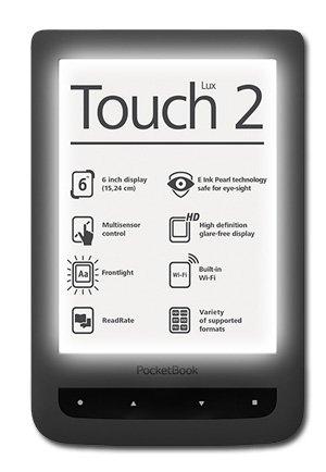 PocketBook Touch Lux 2 bei OSIANDER für 89,-€ - Sonderpreis bis 31.01.2015