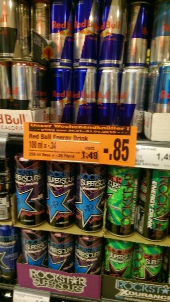Redbull 85 cent(kaufpark bochum)