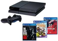 Playstation 4 + DriveClub, Little Big Planet 3 und The Last of Us @Amazon für 399€ +5€ Strafversand
