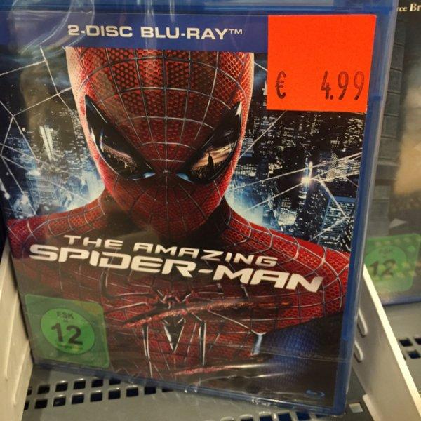 "(Lokal CITTI Kiel) The Amazing Spider-Man ""2-Disc BluRay"""