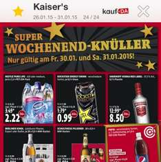 [Lokal Berlin] Smirnoff Red 0,7l 8,50€ bei Kaisers am 30.01. u 31.01