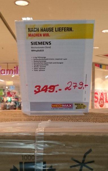 [LOKAL HH] Siemens Waschautomat WM14B2ECO