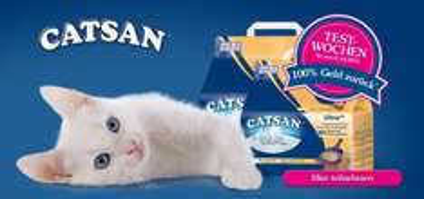 CATSAN Ultra Plus 5l oder 10l kostenlos testen