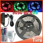 +WIEDER VERFÜGBAR+ 5m LED Strip Komplettpaket: 5050er SMD, 44key Controller, 6A Netzteil (Versand aus China) [wasserfest 17,10€]