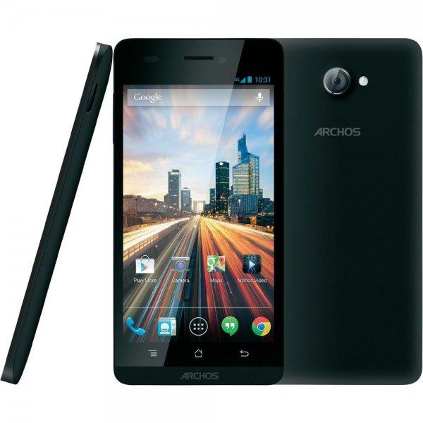 Archos 50 Helium LTE Smartphone - 5 Zoll IPS Display, Snapdragon 1.2 GHz Quad Core, 8 MP, 1GB Ram, Android 4.4.4 für 122,45€ bei Conrad.de
