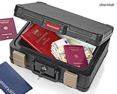 Aldi Süd ab 05.02.15 - Honeywell Dokumentenkassette, DINA4 - feuersicher