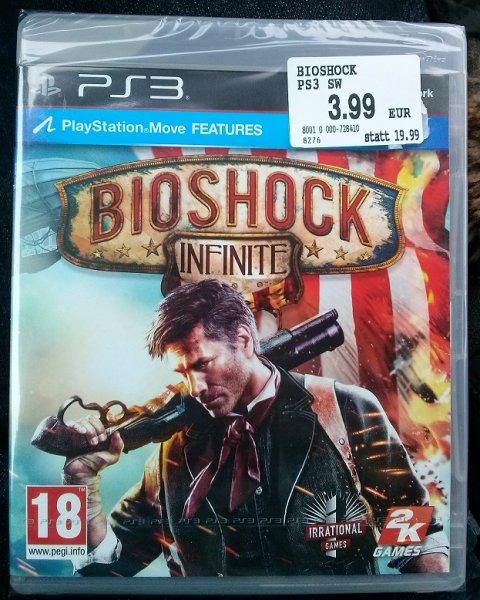 Bioshock Infinite PS3 & Xbox 360 für 3,99€ bei Libro Österreich