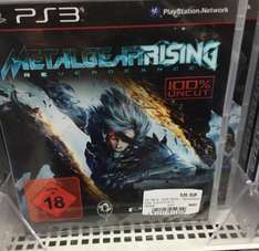 Metal Gear Rising PS3 5€ Media Markt Milaneo Stuttgart