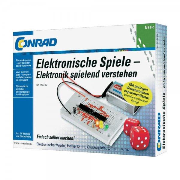 Lernpaket Conrad Basic Elektronische Spiele für 9,99€ inkl. Versand @ Conrad.de