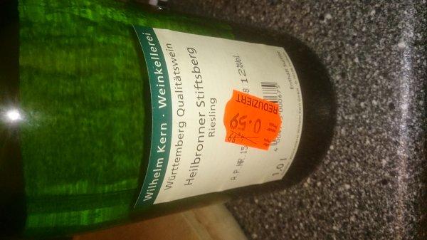 (lokal Regensburg Kaufland Arcaden) div. Wein für 59 Cent