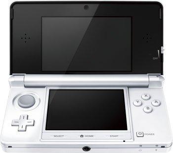 Nintendo 3DS Konsole Schneeweiß für 111€ @Amazon.co.uk