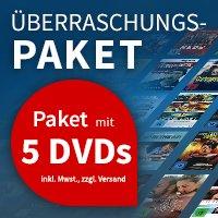 [Videobuster.de] Überraschungspaket 5 DVDs oder Blu Rays