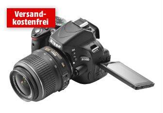 Media Markt Alles Raus: NIKON D5100+18-55mm VR 369Euro