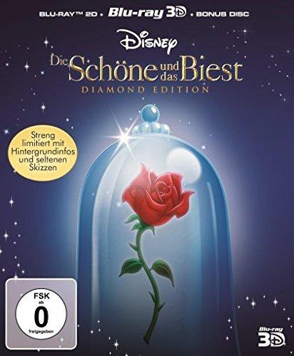[VORBESTELLUNG] Die Schöne und das Biest - Diamond Edition [2D+3D Blu-ray +Bonus Disc]  @ Amazon.de mit Prime