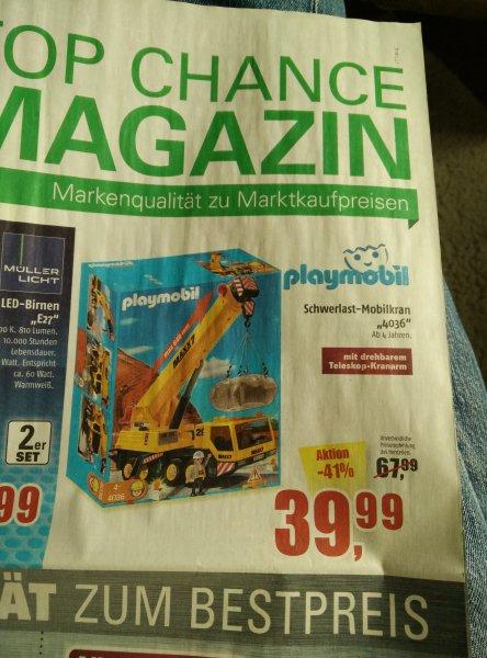 Playmobil Schwerlast-Mobilkran [Marktkauf]