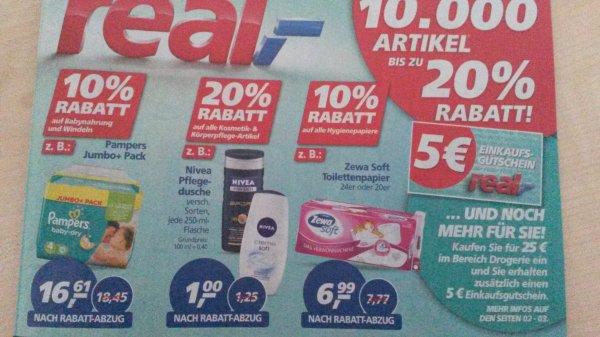 [real] nivea duschcreme for men für 0,50€ 02.02-07.02.