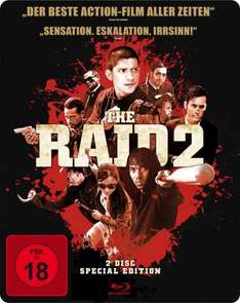 [Müller]  The Raid 2 (exklusives Müller Steelbook) (Blu-ray Disc)