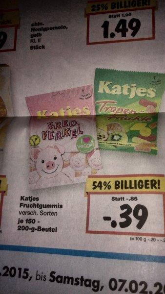 Katjes verschiedene Sorten 0,39€. Kommenden Donnerstag bis Freitag.