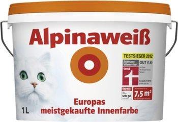 2 Eimer (2x8l = 16l) Alpinaweiß +15€ Gutschein (Offline Hagebaumarkt)