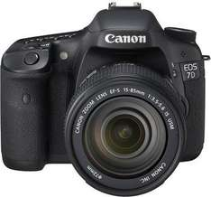 Canon EOS 7D Kit mit EF-S 18-135mm 1:3.5-5.?6 IS Schwarz für 899,-@Saturn Super Sunday