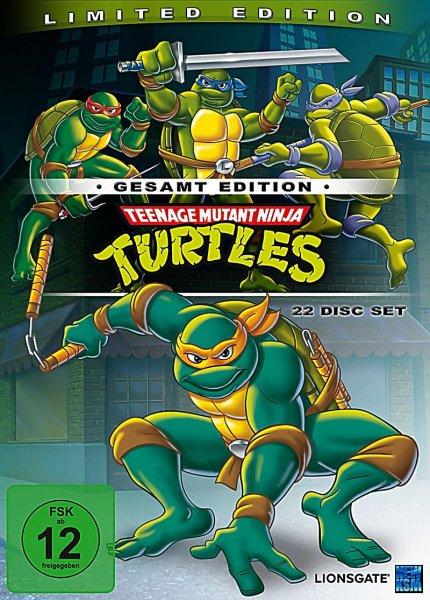 [Saturn] Teenage Mutant Ninja Turtles - Gesamtedition 22 DVD's