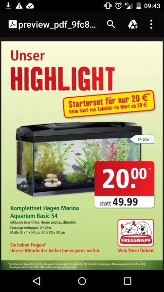 Marina Aquarium Basic 54