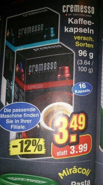 [Netto Marken-Discount] Cremesso Original-Kapseln 3,49€, mit Scondoo 3,09€
