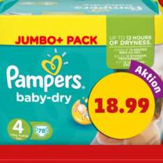 (Penny) Pampers Jumbo Pack 15,99€ durch Coupon im Prospekt