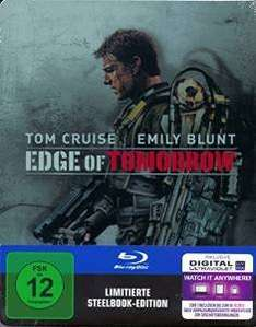 Edge of Tomorrow (Steelbook Edition) [Blu-ray]: Saturn.de für 14,99€