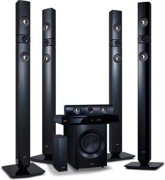 [Blitzangebot] LG BH7530TWB 3D Blu-Ray 5.1 Heimkinosystem mit Wireless Lautsprecher (1200 Watt, HDMI) schwarz für 399€ @Amazon