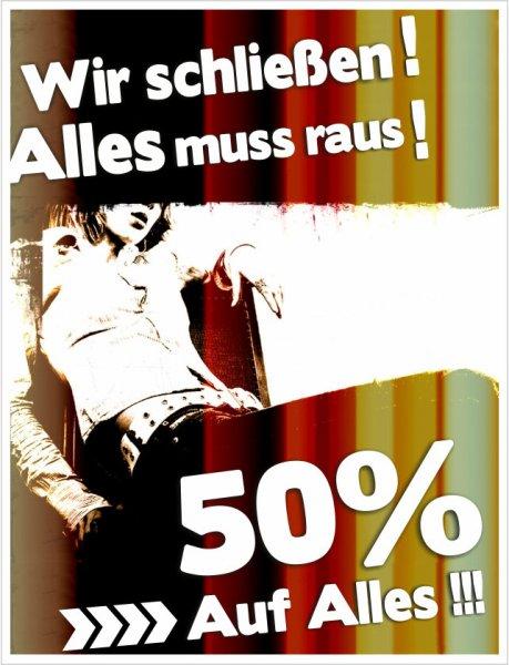 """golop.de """"50% auf alles"""" aufgrund Geschäftsaufgabe [online] - Jetzt 60%!"""
