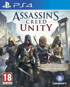 [Zavvi] Assassin's Creed Unity - Special Edition (PEGI - PS4+XBO) für 30,59€