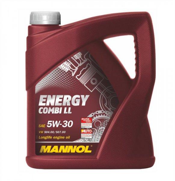 5 Liter Mannol-Motoröl (Testsieger) nach VW Longlife 3-Norm 504/507 für 23,90 EUR minus qipu
