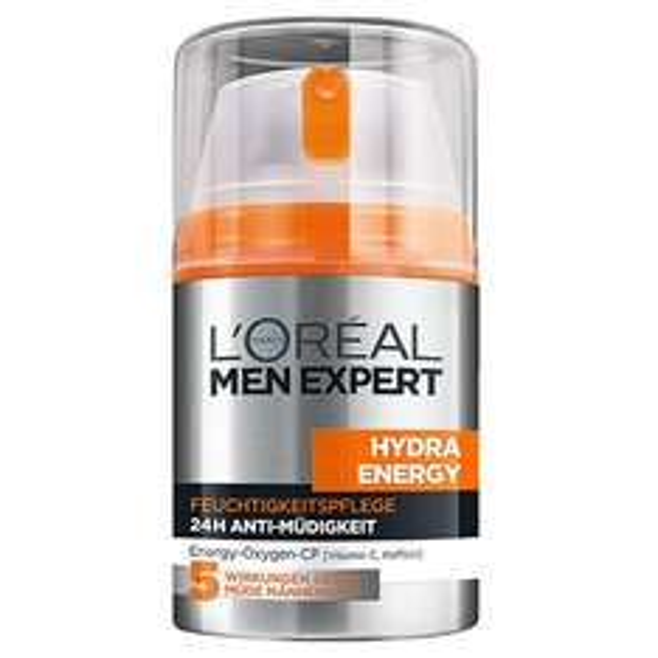 [Amazon.de] (Prime?, Student?) 2x L'Oréal Paris Men Expert Hydra Energy Feuchtigkeitspflege Anti-Müdigkeit, 50ml für 9,98€