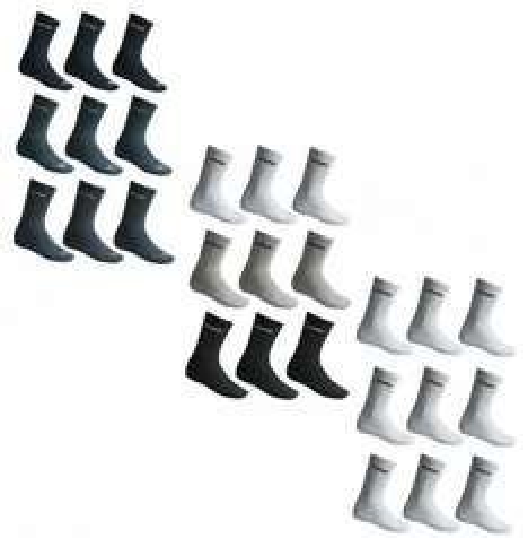 Ebay: NEU PUMA Socken Strümpfe Sportsocken 9 Paar Herren/Damen