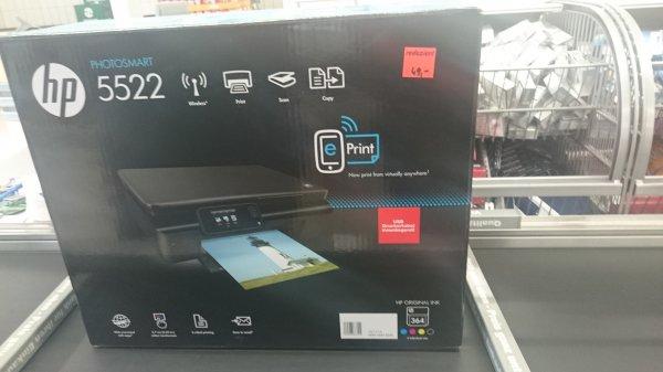 [Lokal?] HP Photosmart 5522 Bei Aldi-Nord Reduziert für 49€