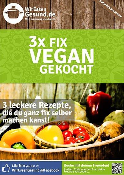 3x fix vegan gekocht - WirEssenGesund.de