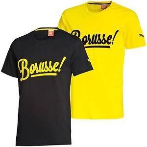 [Puma.de] Borussia Dortmund T-Shirt Borusse! gelb oder schwarz für 15,95€