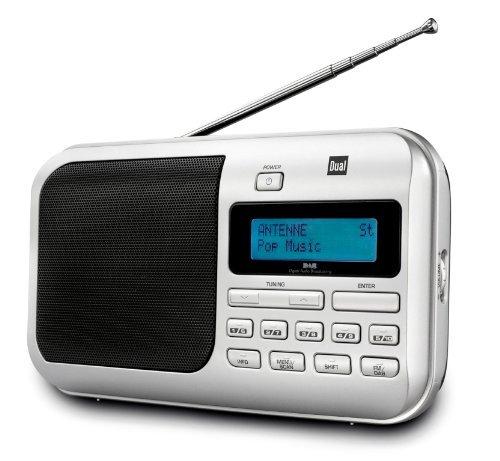 [3% Qipu] Dual DAB 4 Tragbarer Digitalradio (DAB+/UKW-Tuner, Kopfhöreranschluss) in silber für 39,99€ frei Haus @Völkner