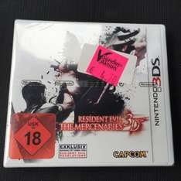 Resident Evil The Mercenaries 3D (Lokal) expert Hallstadt