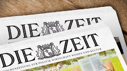 DIE ZEIT - 4 Wochen kostenlos