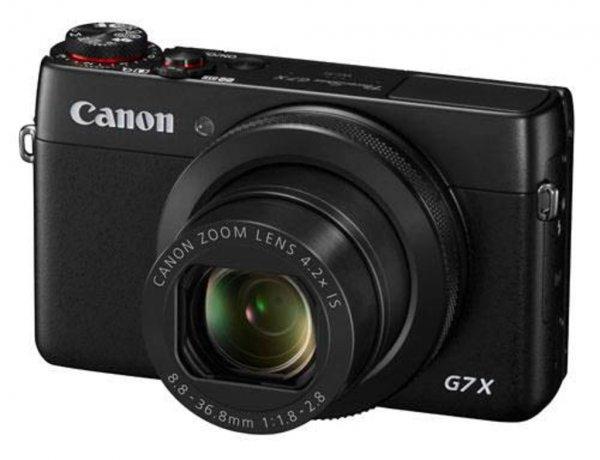 Canon PowerShot G7 X Digitalkamera (20,2 Megapixel, 4,2x opt. Zoom, WiFi, NFC) schwarz für 484,99€ @Cyberport