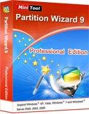 MiniTool Partition Wizard Professional 9 Vollversion für Windows kostenlos