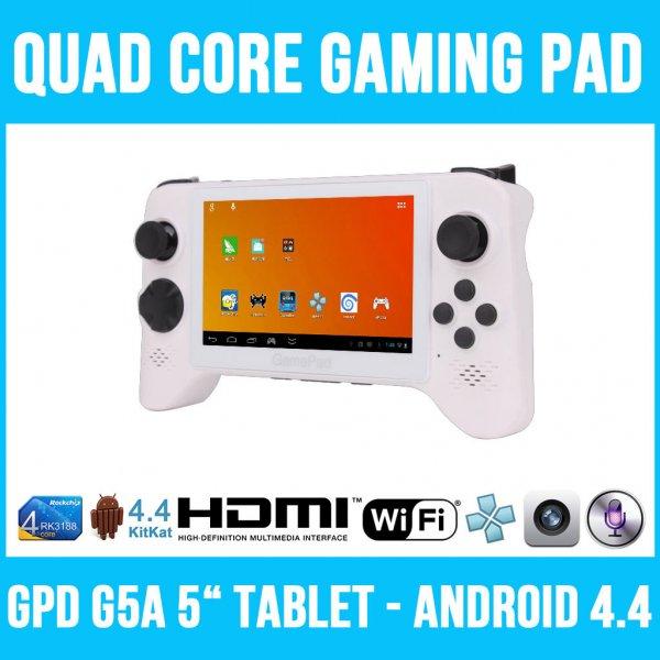 109,90€ GPD-G5A Android Quadcore Gaming Tablet/Konsole/Handheld für eMulatoren bis Dreamcast