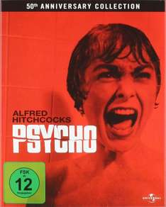 Amazon.de Prime: Psycho (50th Anniversary Collection) [Blu-ray] für 4,99€