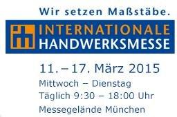 Kostenlose Tageskarten für die Internationale Handwerksmesse 2015 / Garten München (11.-17.03.015)