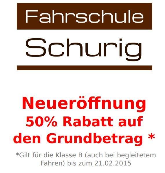 Landshut Fahrschule 50% auf Grundbetrag